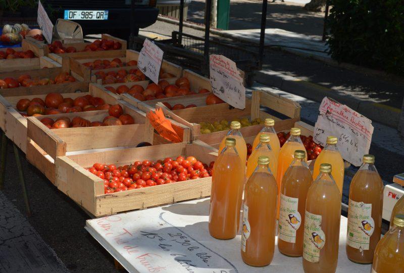 Marché provençal à Bourg-Saint-Andéol - 6