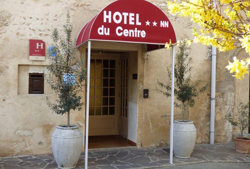 Hôtel du Centre à Pierrelatte - 0