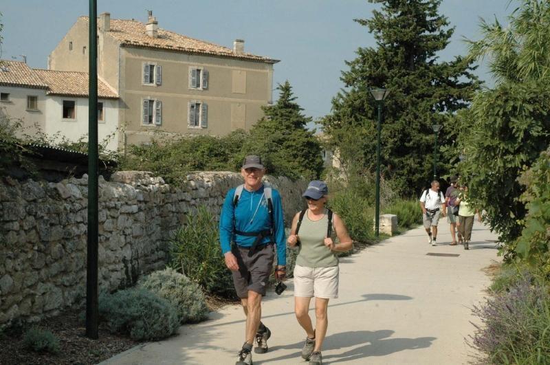 Promenade des jardins de la coulée verte à Saint-Paul-Trois-Châteaux - 0