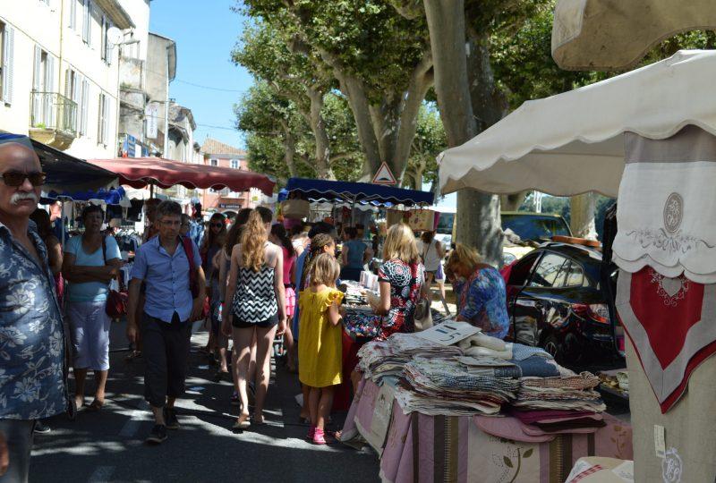 Marché provençal à Bourg-Saint-Andéol - 3