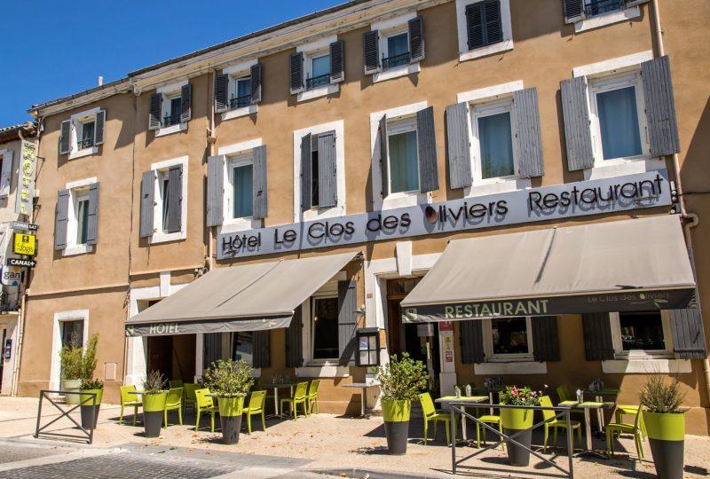 Hôtel le Clos des Oliviers à Bourg-Saint-Andéol - 0