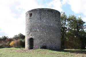 Donzère moulin de Beauvert