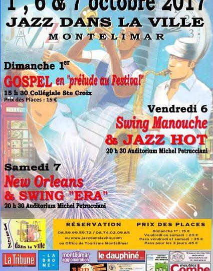 Jazz dans la ville à Montélimar - 0
