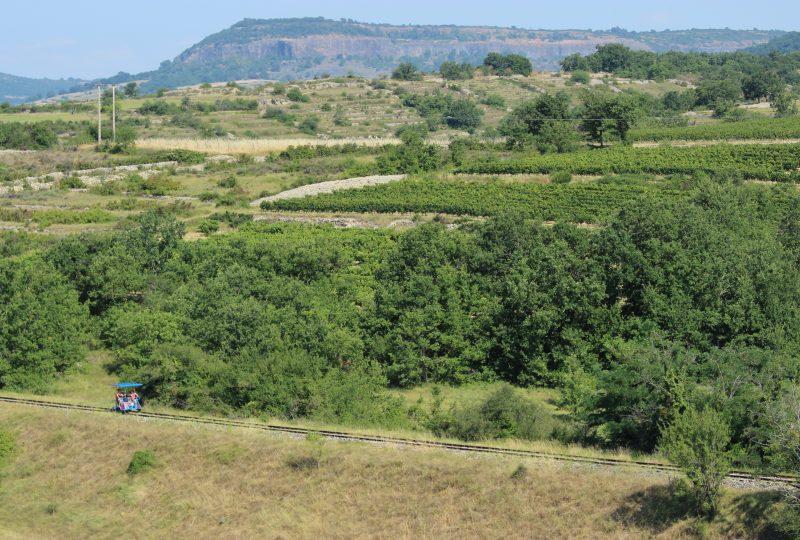 Vélorail du Sud Ardèche à Saint-Jean-le-Centenier - 4