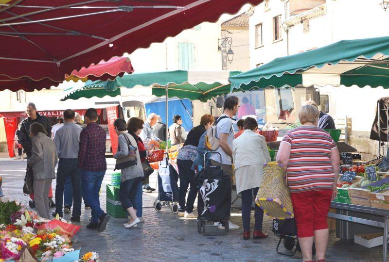 Marché hebdomadaire à La Baume-de-Transit - 0